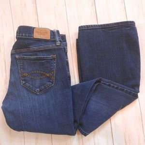 ABERCROMBIE & FITCH Jeans Size 2 Short 26 Flare